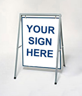 quick overview. sign accessories and hardware sign frames yard sign ...